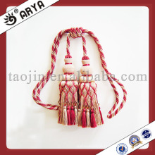 Nice Curtain Accessories Fringes Tassel Usado para cortinas