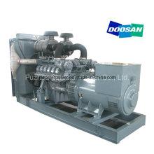 Generador diesel eléctrico de Daewoo del tipo abierto de 480kw 600 kVA con el alternador maratón