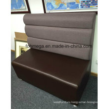 Optional Colors and Materials Restaurant Booth Sofa Seating