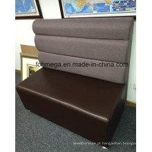 Cores opcionais e materiais Restaurante Booth Sofa Seating