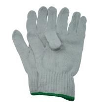 NMSAFETY guantes de algodón más baratos hechos de china con guantes de trabajo de algodón blanco al aire libre de alta calidad
