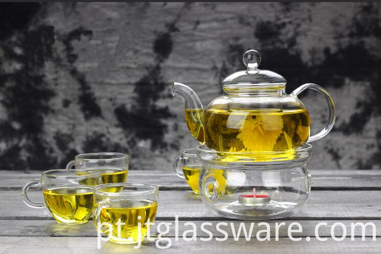 800ml glass teapot