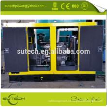 Generador eléctrico diesel silencioso del precio bajo 100kw con los agujeros de la carretilla elevadora