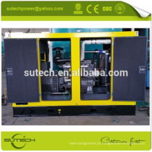 Preço barato 100kw gerador elétrico diesel silencioso com furos de empilhadeira