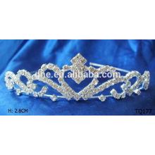 Neue Art und Weisegroßverkauf Rhinestone elastisches hairband tIara