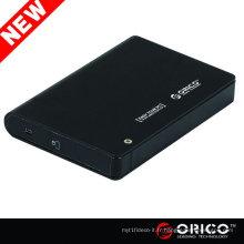 Boîtier de disque dur HDD de 9,5 mm 12,5 mm Boîtier externe HDD HD DRIVE