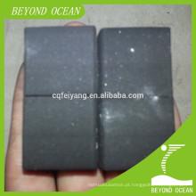 Carvão de coco baixo do cachimbo de água do cinza usado para o shisha