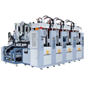 Honking Machinery 2 Estação 2/4 Screw Tr / TPU Soles Machine