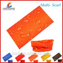 Ningbo Lingshang billig Großhandel Polyester Sport Outdoor nahtlose benutzerdefinierte multifunktionale Rohr Bandana