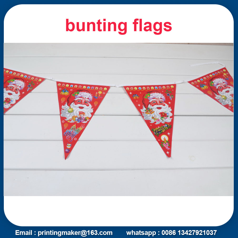 triangle bunting flag banner