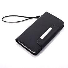 Magnétique Boucle Wallet Style Moile Téléphone Pochette pour Samsung Galaxy S5 (RTU-86)