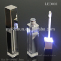 Mit LED-Licht und Spiegel LED leer Lip Glanz Rohr