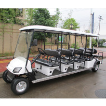 10 seaters bensin golf cart dengan sabuk pengaman