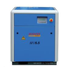 Compresor de tornillo refrigerado por aire August 5.5kw / 7.5HP