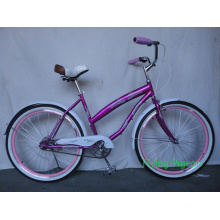 "26"" Women City Bicycle Beach Cruiser Bicycle (FP-BCB-C043)"