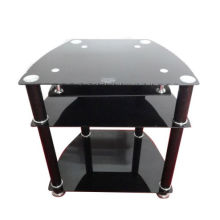 Hot Selling New Modern Tempered Glass LCD TV Stand