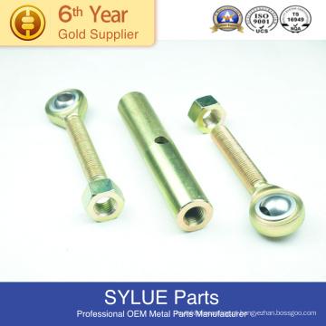 peças de perfuração de alumínio carimbando feito-à-medida