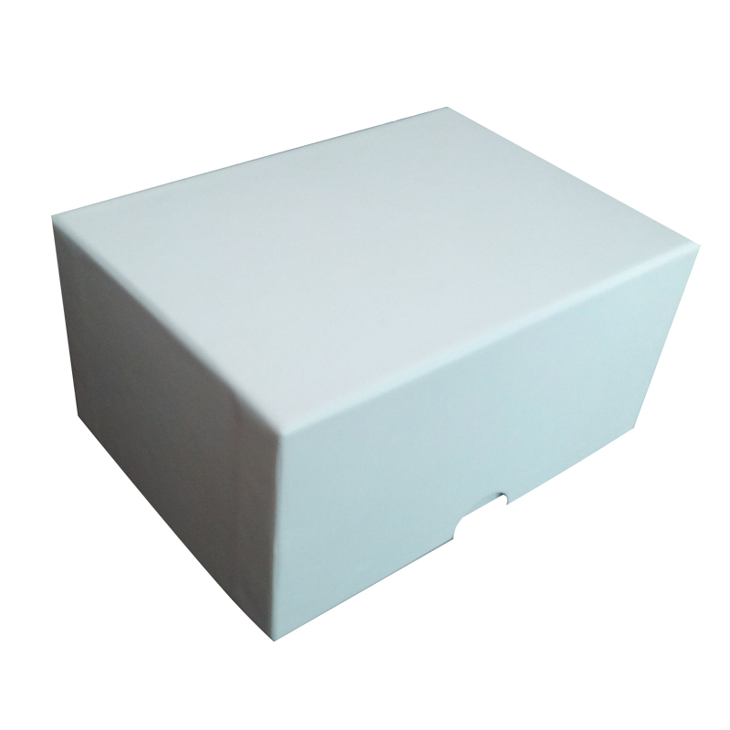Free Sample White Cardboard Insert Foam Paper Box