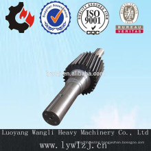 Customize Large Spur Gear Shaft For Industrial Machinery