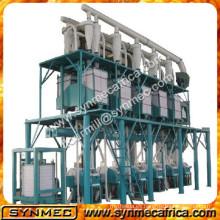 Máquina de 40/24 h atta maida, fresadoras de harina con precio, molinos de trigo