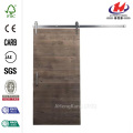 Rustica Reclaimed Gray Wood Barn Door