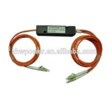 FBT LC splitter upc, divisor tipo mini 62.5 / 125 fbt, divisor óptico 1 * 2
