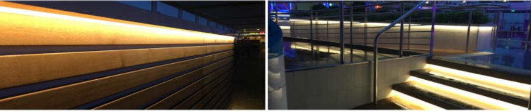 Edge emitting strip light 335led