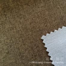 Tissu de textile à la maison décoratif de regard de lin pour la tapisserie d'ameublement
