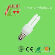 U forma serie energía bombillas CFL, (VLC-3UT3-8W)