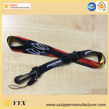 Wholesale promotional customized logo double sided lanyard