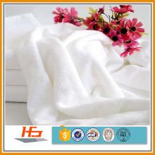 100% Baumwolle Hotel einfache weiße Badetücher
