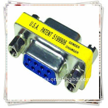 Vga hembra a hembra acoplador / cambiador / convertidores / conectores