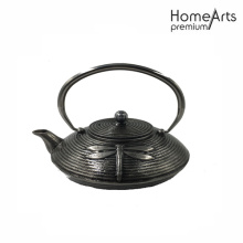 Shinning Finish Cast Iron Teapot