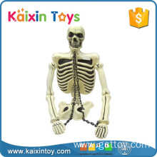 Life Size Cheap Plastic Skeletons Toy With Flash Light