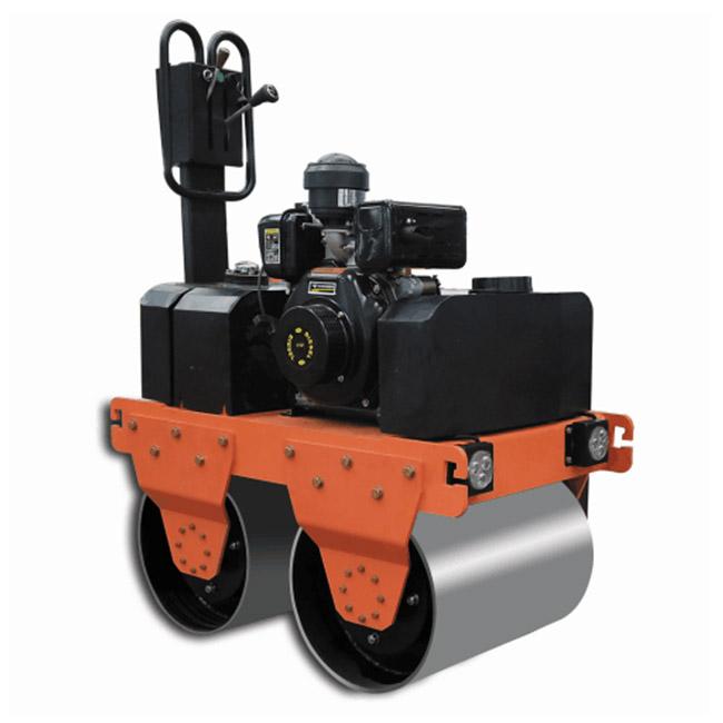 Handheld road roller