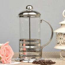 Prensa de café francesa de alta calidad del acero inoxidable 2015