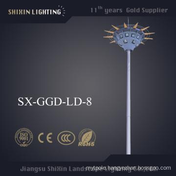 Newest 15m \18m\35m LED High Mast Lighting