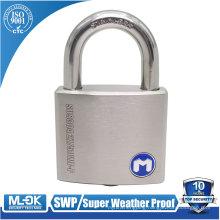 MOK@W207P/SS super weatherproof pin padlock, Stainless steel Outdoor padlock