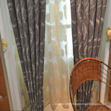 2015 hot sale royal & model fancy simple curtain design crest home design curtains