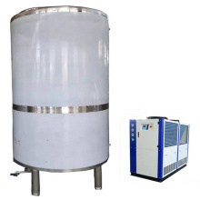 500L Glycol cooling heat exchanger tank for beer brewing equipment