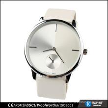 Reloj para hombre de acero inoxidable movimiento japonés, reloj cronógrafo hecho en China