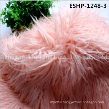 Long Hair Curly Artificial Mogolian Fur Eshp-1248-3