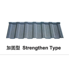 Strenghten Type Stone Coated Metal Roof Tile
