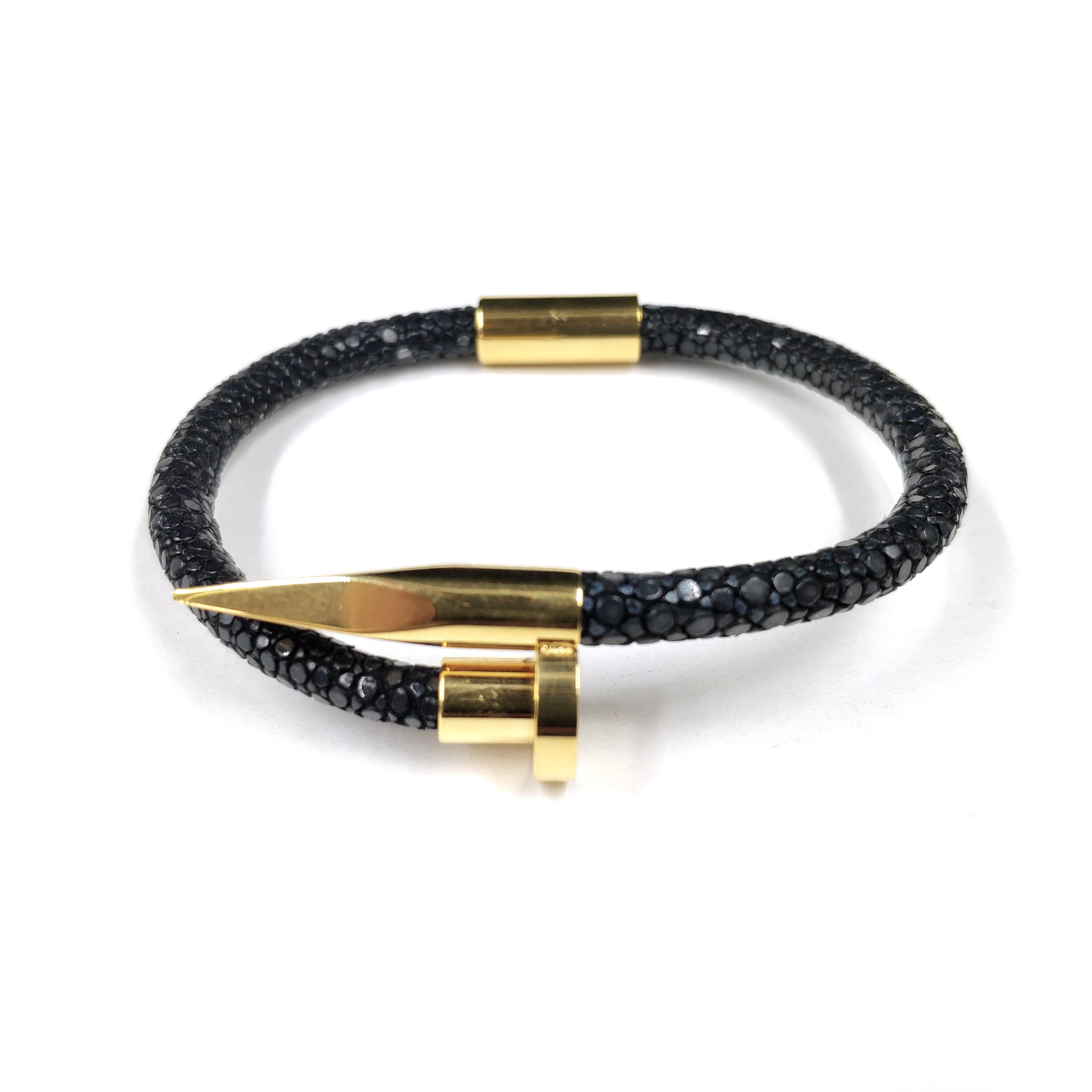 High Grade Genuine Stingray Skin Nail Bracelets