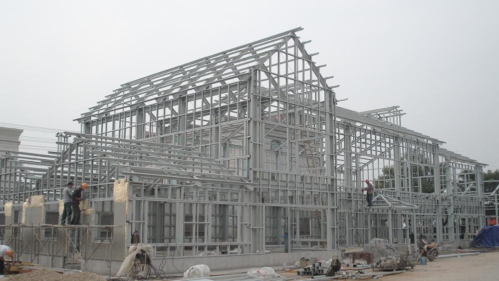 Prefabricated Light Gauge Steel Villa 2