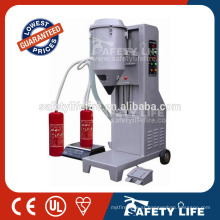 Powder fire extinguisher refill machine/machine for fire extinguisher