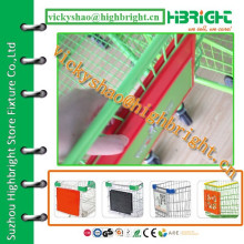 Branded Shopping Trolley Advertising Boards