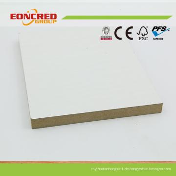 Weißer Farbe laminierten MDF für Möbel