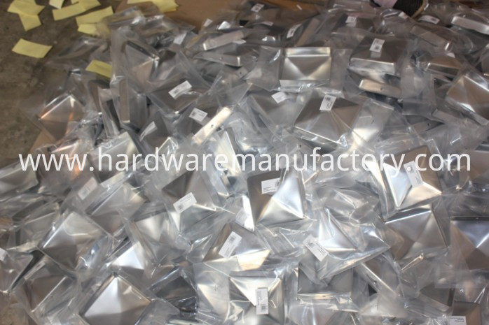 Pyramid Fence Post Cap Packing