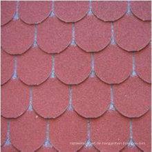 Asphalt-Schindel / architektonische Dachplatten / Bitumen-Schindeln für Dach / Garage / Dekoration (ISO)
